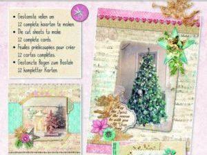 STANSBLOKSC51 StudioLight Udstanset Papirblok 3D Shabby Winter Christmas-0