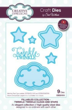 CETREATSMSTAR Creative Expressions Finishing Touches Small Star Treat Cups -5309