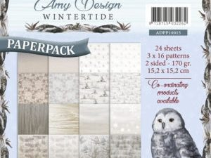 ADPP10015 Amy Design Papirsblok Wintertide-0