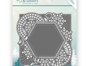 JAD10015 Jeanine`s Art Die Winter Classics Mosaic Frame-0