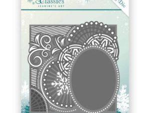 JAD10016 Jeanine`s Art Die Winter Classics Curly Frame-0