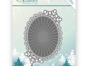 JAD10025 Jeanine`s Art Die Winter Classics Winter Oval-0