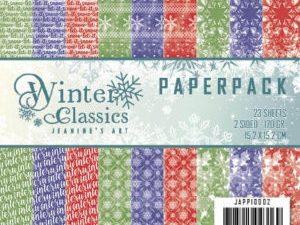 JAPP10002 Jeanine`s Art Papirsblok Winter Classics-0