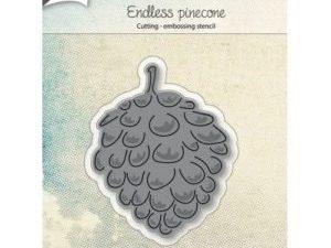 6002/0983 JOY Die Cut/emb Endless Pinecone-0