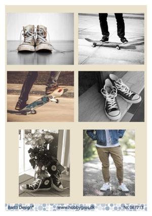 067713 BARTO DESIGN 3D 1 Ark Drenge Sneakers-0