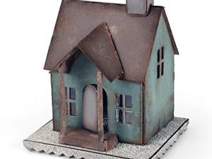 660992 Sizzix Die Tim Holtz Bigz XL Alterations Vintage Village Basis House-0
