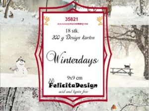 35821 Felicita Design Toppers 9 x 9 Winterdays-0