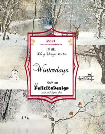 35821 Felicita Design Toppers 9 x 9 Winterdays-0