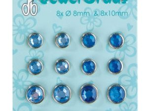 72.1420 Leane Creatief Leane Jewel Brads Blue-0