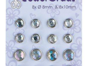 72.1451 Leane Creatief Leane Jewel Brads Crystal-0