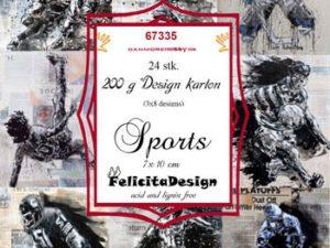 67335 Felicita Design Toppers 7 x 10 Sports-0