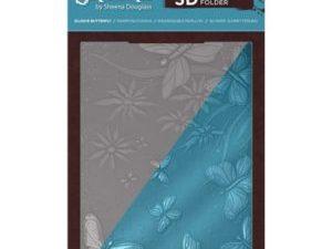 SD-EF5-3D-ELBU, Sheena Douglas Emb.folder, Elusive Butterfly-0