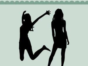 MD0140 Dixi Craft Die Girls-0