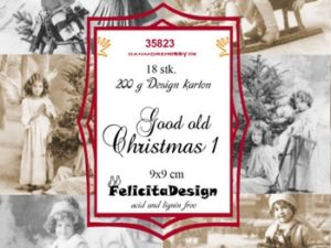 35823 Felicita Design Toppers 9 x 9, Good Old Christmas 1-0