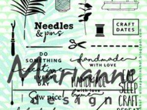 EC0167 Marianne Design Stempel, Craft Dates 2-0
