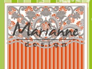 DF3443 Marianne Design, Emb.folder & die, Anja's Ornamental Border-0