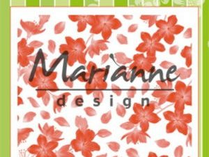DF3446 Marianne Design, Emb.folder, Blossom-0