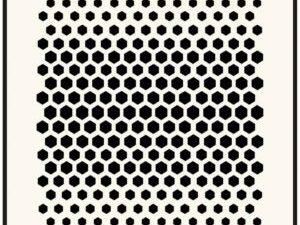 470.715.122 Dutch Doobadoo Mask Stencil A5 Honeycomb-0