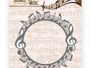 "ADD10134 Amy Design Die ""Sound of Music"" Music Circle-0"