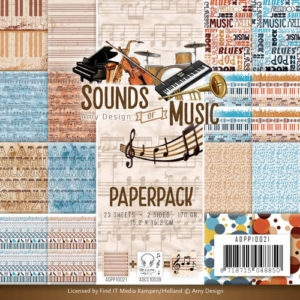 ADPP10021 Amy Design Papirsblok Sound of Music-0