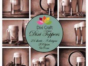 ET0316 Dixi Craft Toppers, Fadøl -0