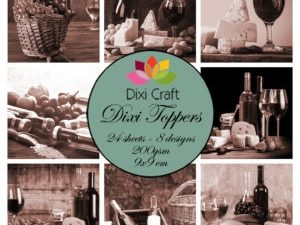 ET0318 Dixi Craft Toppers, Ost & Vin-0