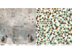 "WL281210 Riddersholm Design papir ""Woodlands-Wolf"" -0"