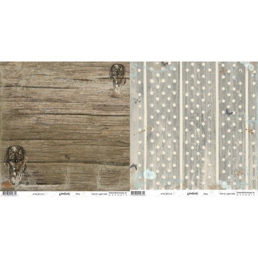 """WL281214 Riddersholm Design papir """"Woodlands-Stray"""" -0"""