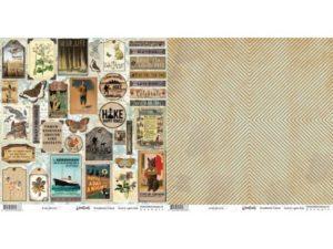 "WL281219 Riddersholm Design papir ""Woodlands-Cutout"" -0"