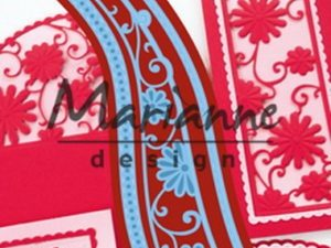 LR0518 Marianne Design Die Cut/emb Creatables, Anja's flower wave-0