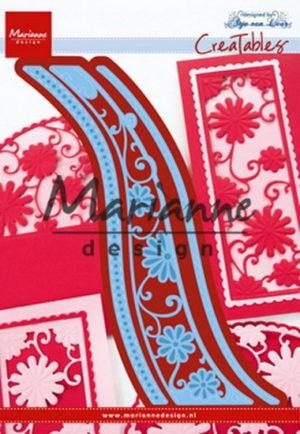LR0518 Marianne Design Die Cut/emb Creatables, Anja's flower wave-0