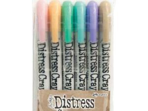 TDBK51756 Ranger Tim Holtz Distress Crayons sæt 5, 6 stk-0