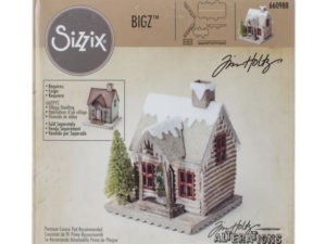 660988 Sizzix Die Tim Holtz Bigz XL Alterations Village Winter-0