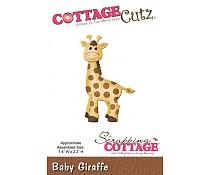 CC-005 Cottage Cutz Die Baby Giraffe-0