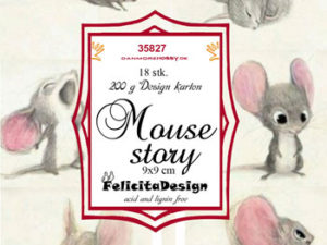 35827 Felicita Design Toppers 9 x 9 cm, Baby Mus -0