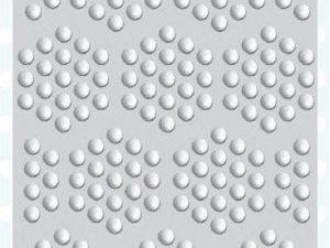 "EF3D-004 Creative Expressions Sue Wilson 3D Embossing Folders""Decadent Dots""-0"