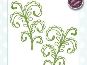 CED1514 Creative Expressions Sue Wilson Die, Finishing Touches, Curly Fern-0
