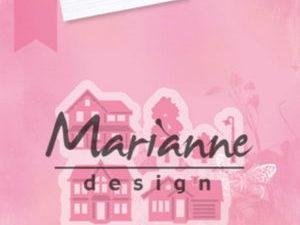 COL1451 Marianne Design Die Collectales Mini Village-0