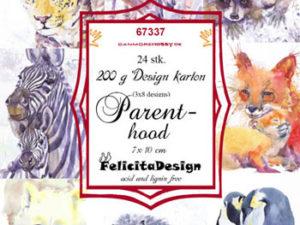 67337 Felicita Design Toppers 7 x 10 cm, Parent Hood-0