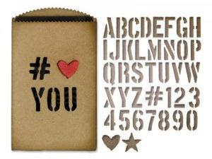 "662687 Sizzix Die Tim Holtz Thinlits Alterations, ""Gift Card Bag""-0"