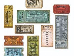 """662698 Sizzix Die Tim Holtz Thinlits Alterations, """"Ticket Booth""""-0"""