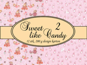 69501-1 Felicita Design papir ark, Sweet Like Candy 2-0