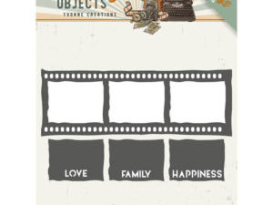 YCD10133 Yvonne Design Die, Vintage objects, Film Strip-0
