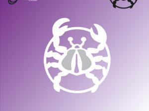 "BLD1070 By Lene Die Cut/emb, ""The Crab""-0"