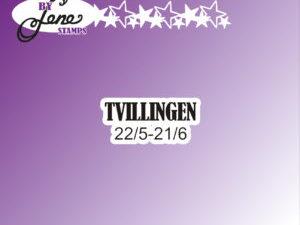 """BLS1046 By Lene stempel, """"Tvillingen""""-0"""