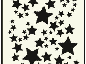 "470.715.014 Dutch Doobadoo Mask Stencil A5 Card Art ""Stars""-0"