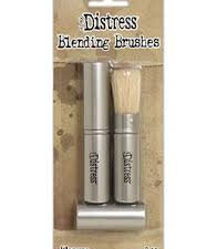 TDA62240 Tim Holtz Distress Retractable Blending Brush, 2 stk.-0