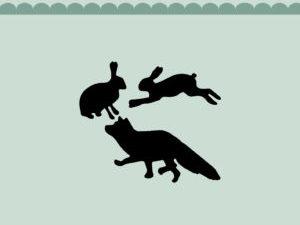 MD0149 Dixi Craft Die Fox & Rabbits-0
