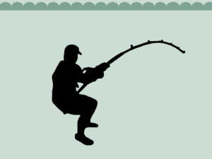 MD0151 Dixi Craft Die Fisherman-0