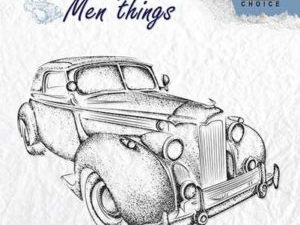 CSMT007 Nellie Snellen Clearstamps - Men Things - Oldtimer-0